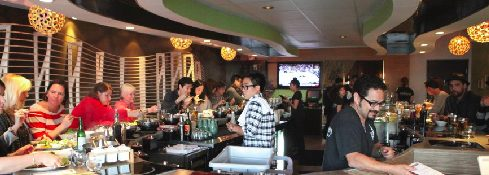 people dining at Tabu Shabu Costa Mesa
