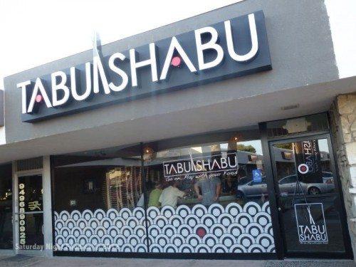 Exterior of Tabu Shabu Costa Mesa